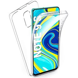 Funda Doble Cara Completa 360 Sin Puntos para Xiaomi Redmi Note 9S