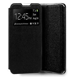 Funda con Tapa y Ventana para Xiaomi Mi 10 negro