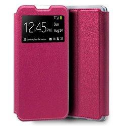 Funda con Tapa y Ventana para Xiaomi Mi 10 rosa