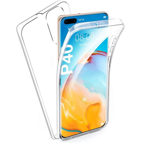 Funda Doble Cara Completa 360 Sin Puntos para Huawei P40
