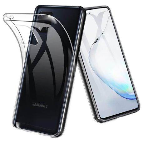 Funda de silicona transparente para Samsung Galaxy Note 10 Lite