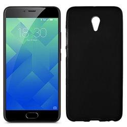 Funda de silicona negra para Meizu M5 Note