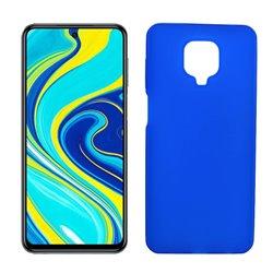 Funda de silicona azul para Xiaomi Redmi Note 9S