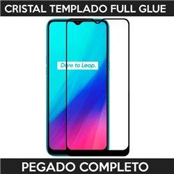 Protector de pantalla completo full glue para Realme C3