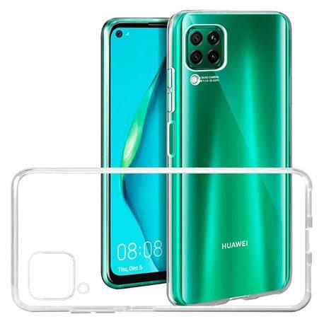 Funda transparente de silicona para Huawei P40 Lite
