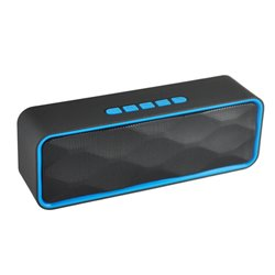 Altavoz Bluetooth BS1700 con Radio FM, MP3 y Manos Libres Azul