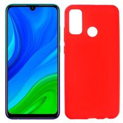Funda roja de silicona para Huawei P Smart 2020