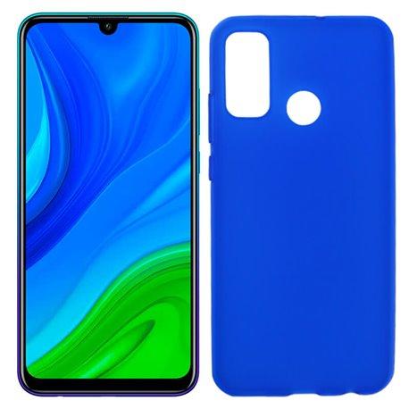 Funda azul de silicona para Huawei P Smart 2020