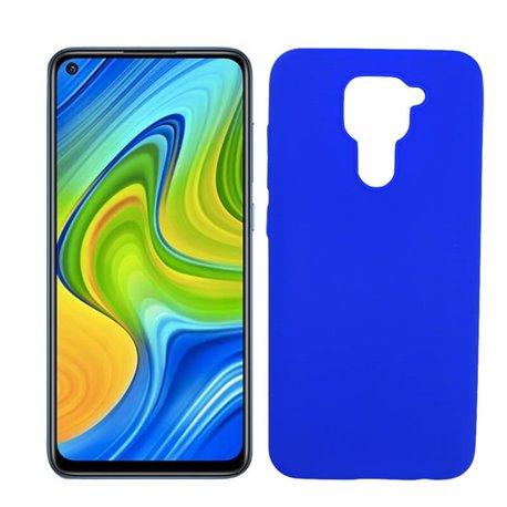 Funda azul de silicona para Xiaomi Redmi Note 9
