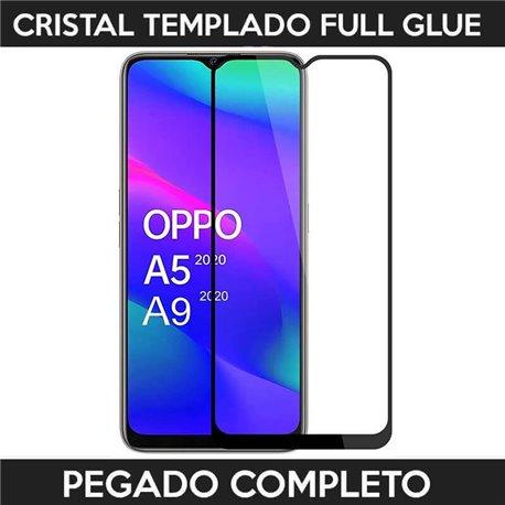 Protector de pantalla completo full glue para Oppo A5 2020 / A9 2020