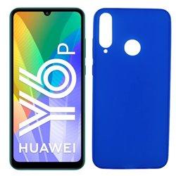 Funda azul para Huawei Y6p de silicona