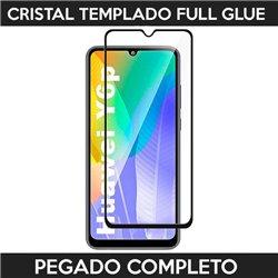 Protector de pantalla completo full glue para Huawei Y6p