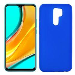 Funda azul para Xiaomi Redmi 9 de silicona