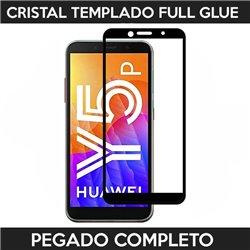 Protector de pantalla completo full glue para Huawei Y5p