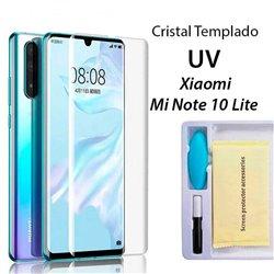 Protector Pantalla de Cristal Templado UV Curvo Xiaomi Mi Note 10 Lite