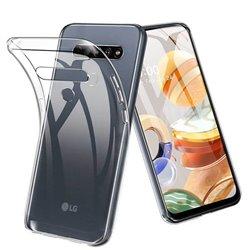 Funda transparente para LG K41S / K51S de silicona