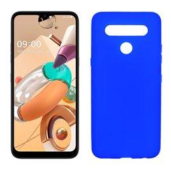 Funda azul para LG K41S / K51S de silicona