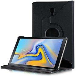 Funda con tapa Giratoria 360 para Samsung Galaxy Tab A 2018 10.5 Negro