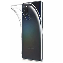 Funda transparente para Samsung Galaxy A21S de silicona