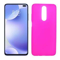 Funda rosa para Poco X2 de silicona