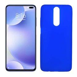 Funda azul para Poco X2 de silicona