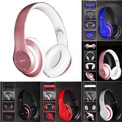 Auriculares de diadema P15 Bluetooth con Radio, MP3 y Manos Libres