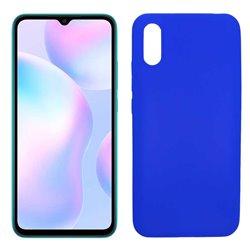 Funda azul para Xiaomi Redmi 9A de silicona