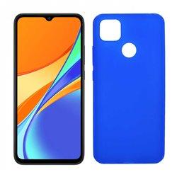 Funda azul para Xiaomi Redmi 9C de silicona