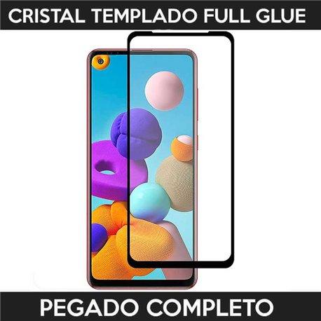 Protector de pantalla completo full glue para Samsung Galaxy A21S