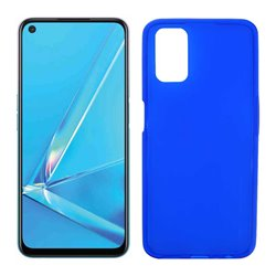 Funda azul para Oppo A52 / A72 / A92 de Silicona