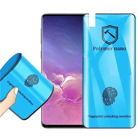 Protector de pantalla de Nano Polímero para Samsung Galaxy S10