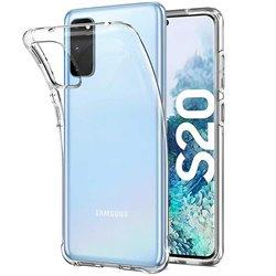 Funda Transparente para Samsung Galaxy S20 de silicona