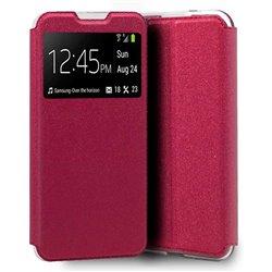 Funda con Tapa y Ventana para Xiaomi Redmi 9A rosa