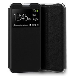 Funda con Tapa y Ventana para Xiaomi Redmi 9A negro