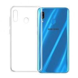 Funda transparente para Samsung Galaxy A20S de silicona