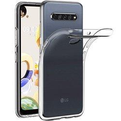 Funda transparente para LG K61 de silicona