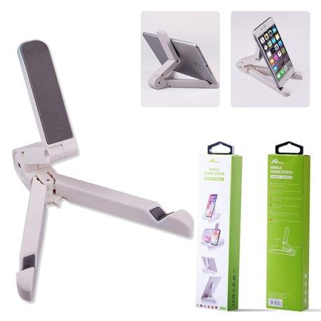 Soporte para móvil o tablet de escritorio