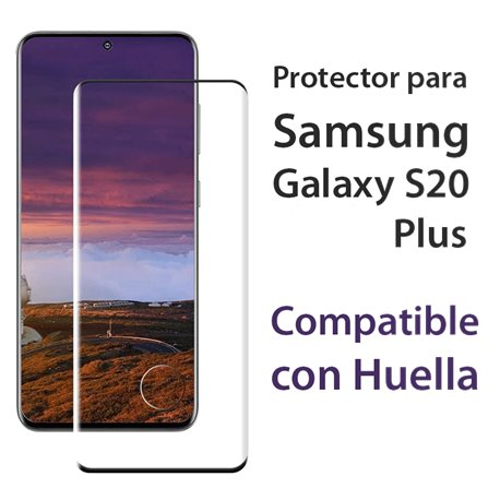 Protector pantalla Cristal Templado con Huella Samsung Galaxy S20 Plus