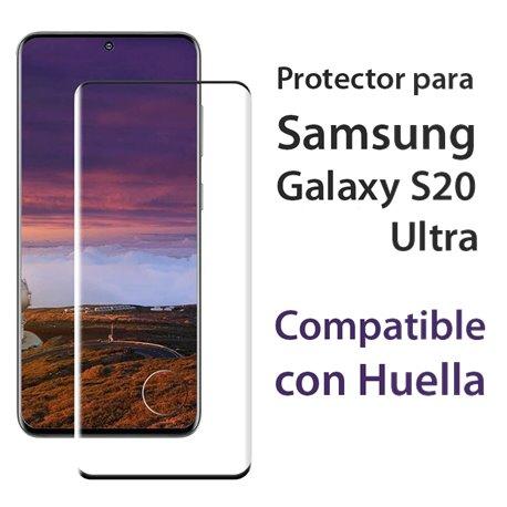 Protector pantalla Cristal Templado con Huella Samsung Galaxy S20 Ultra