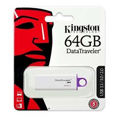 Pendrive Kingston Data Traveler, Memoria Usb 64GB USB 3.0