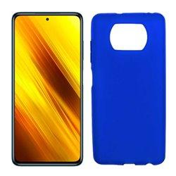 Funda azul para Poco X3 NFC de silicona