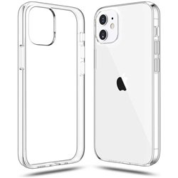 Funda transparente para iPhone 12 / 12 Pro de Silicona