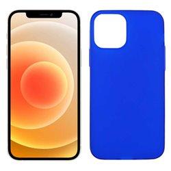 Funda azul para iPhone 12 Mini de silicona