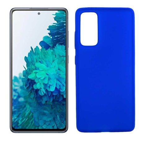 Funda azul para Samsung Galaxy S20 FE de silicona