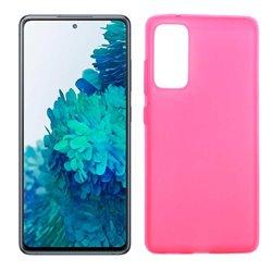 Funda rosa para Samsung Galaxy S20 FE de silicona