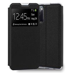 Funda con tapa y ventana para Samsung Galaxy S20 FE Negro