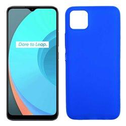 Funda azul para Realme C11 de Silicona