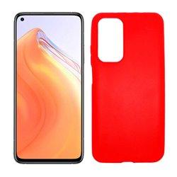 Funda roja para Xiaomi Mi 10T / Pro de silicona