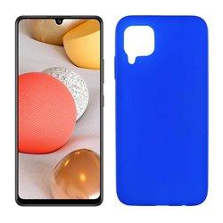 Funda azul para Samsung Galaxy A42 5G de silicona