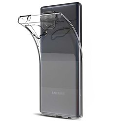 Funda transparente para Samsung Galaxy A42 5G de silicona
